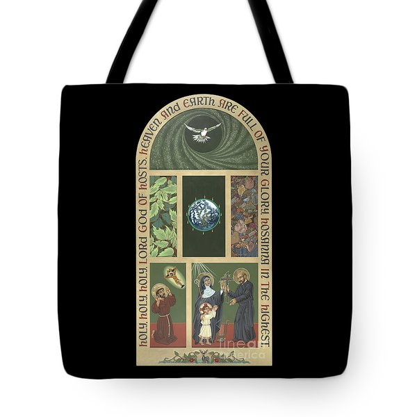 Viriditas - Finding God In All Things Tote Bag