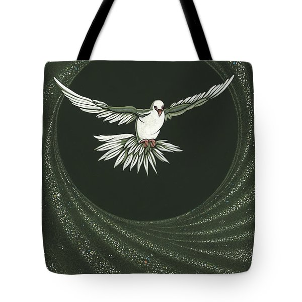 Viriditas-holy Spirit Detail Tote Bag