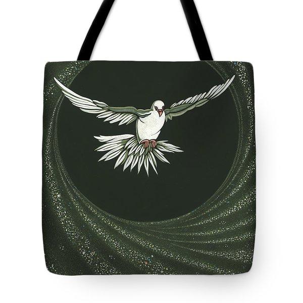 Viriditas-holy Spirit Detail Tote Bag