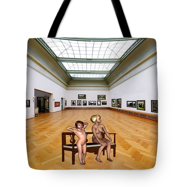 Virtual Exhibition - 32 Tote Bag