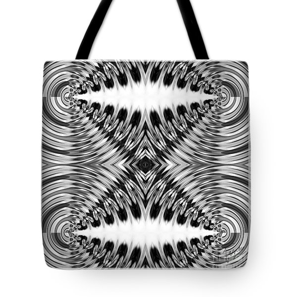 Virtual Illusion-mindset Tote Bag