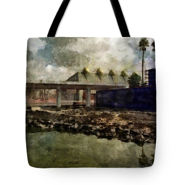 Tote Bag featuring the photograph Virtual Reality by Dariusz Gudowicz