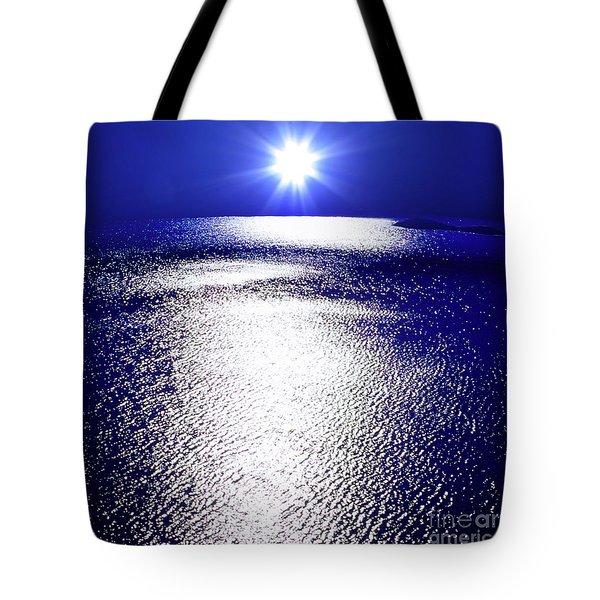 Virtual Sea Tote Bag