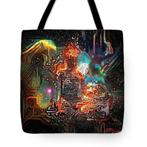 Virtual Zen Tote Bag