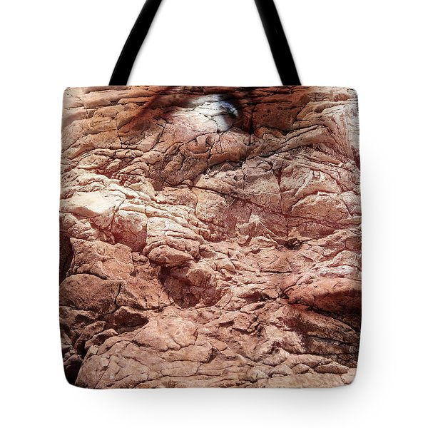 Visceral Mountain Man Tote Bag