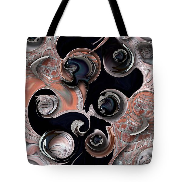 Vision And Morphism Tote Bag