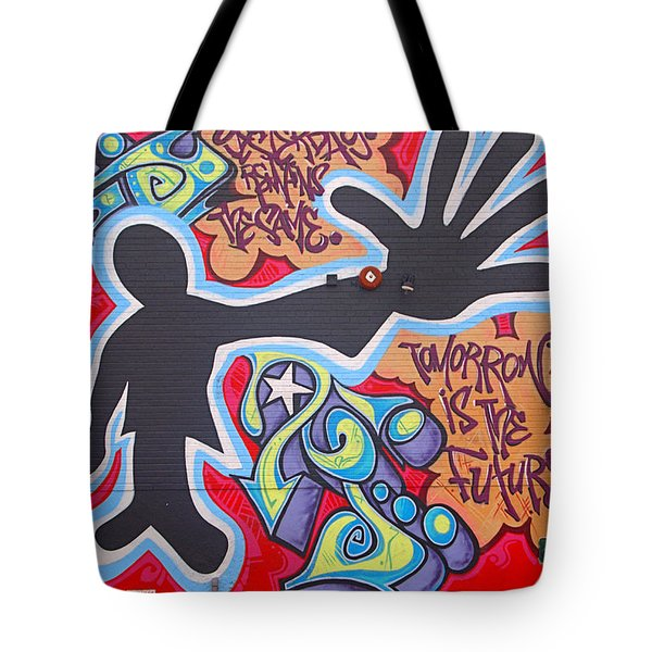 Vision Tote Bag by  Newwwman