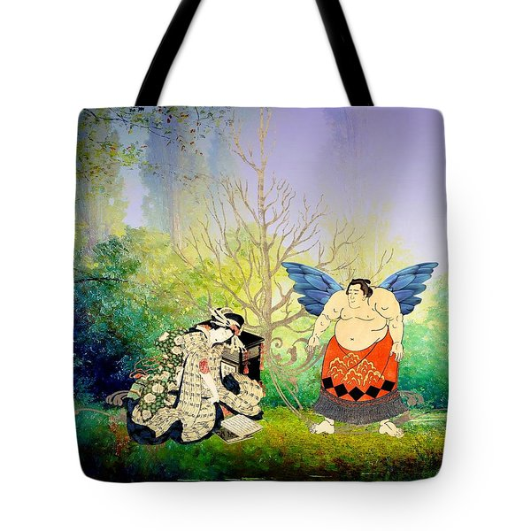 Vision Of Angel Tote Bag