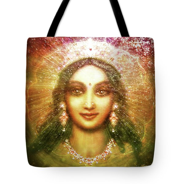 Vision Of The Goddess  Tote Bag by Ananda Vdovic