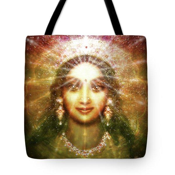 Vision Of The Goddess - Light Tote Bag