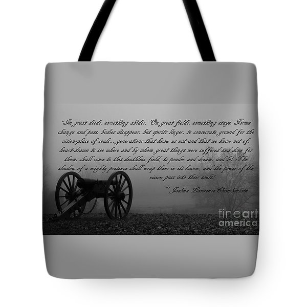 Vision-place Of Souls Tote Bag