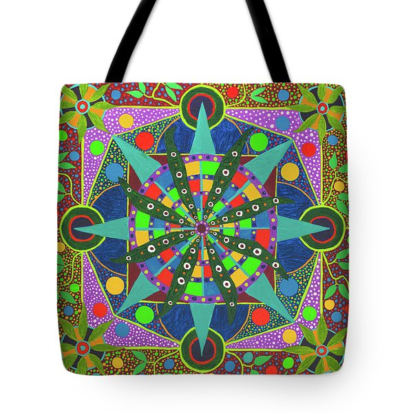 Vision - The Dna Of Plants Tote Bag