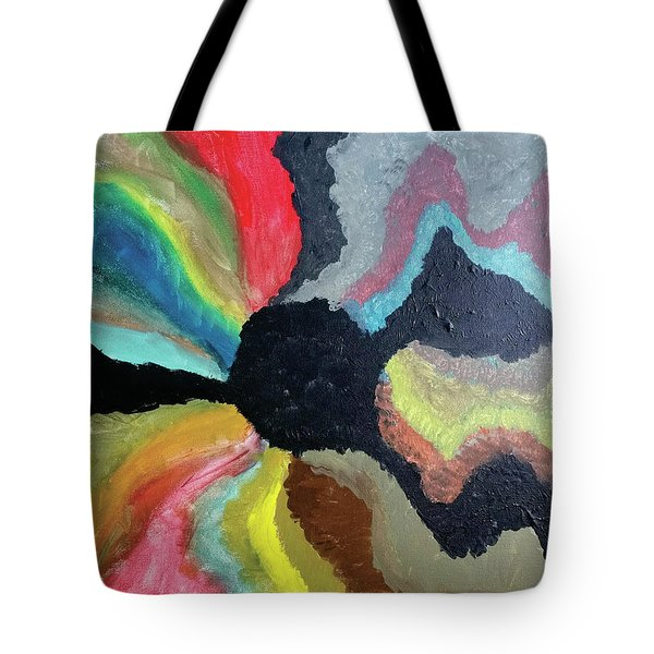 Visions Of Color Tote Bag