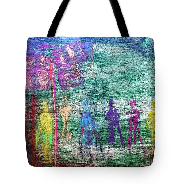 Visions Of Future Beings Tote Bag