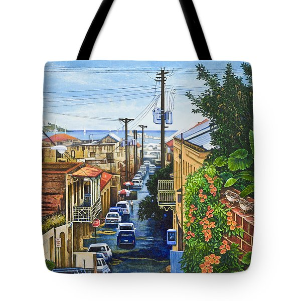 Visions Of Paradise Vii Tote Bag by Michael Frank