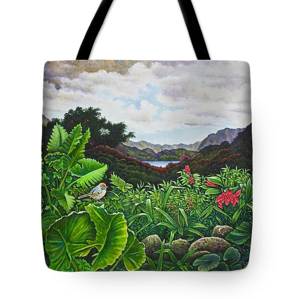 Visions Of Paradise Viii Tote Bag by Michael Frank