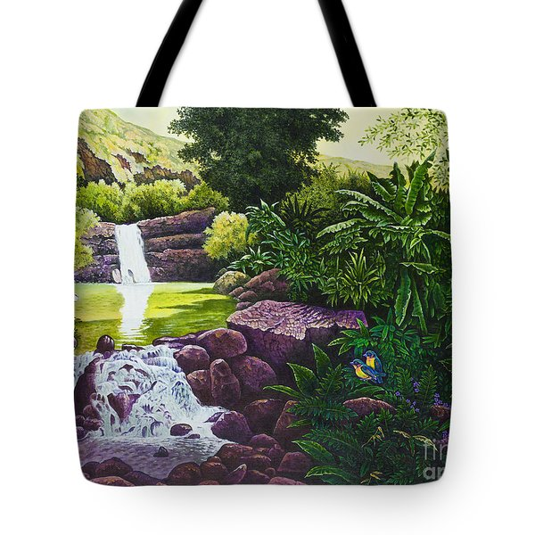 Visions Of Paradise X Tote Bag by Michael Frank