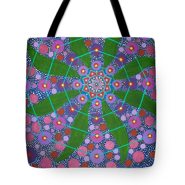 Visions Of The Amethyst Beyond  Tote Bag