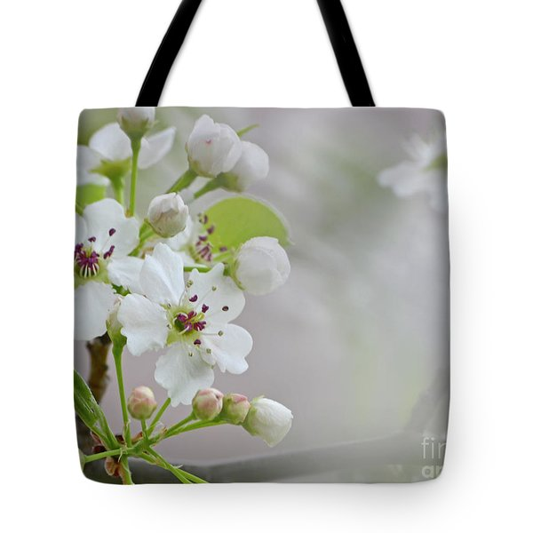 Visions Of White Tote Bag