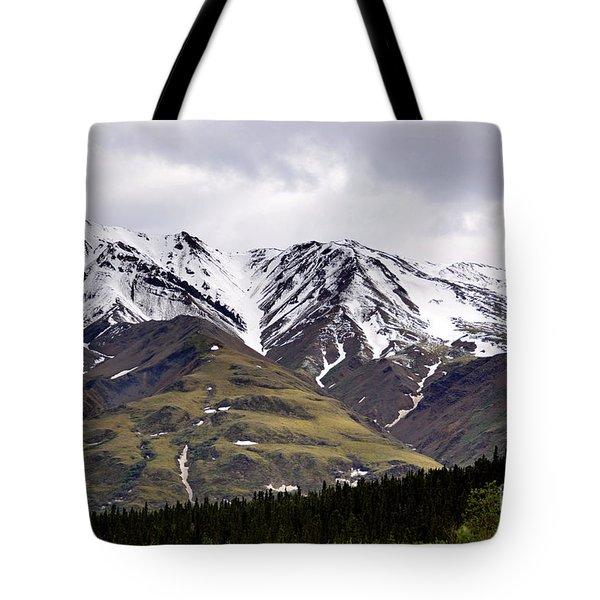 Visit Alaska Tote Bag