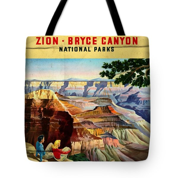 Visit Grand Canyon - Folded Tote Bag