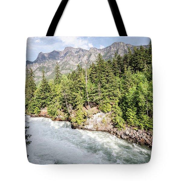 Visit Montana Tote Bag