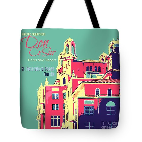 Visit The Don Cesar Tote Bag