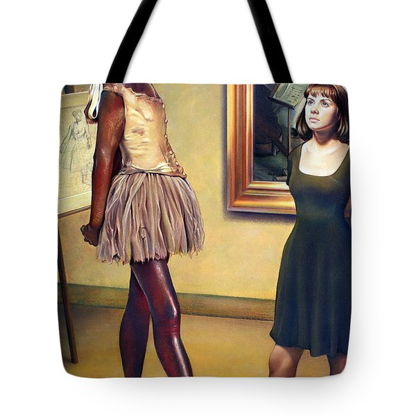 Visit To The Museum Tote Bag by Patrick Anthony Pierson