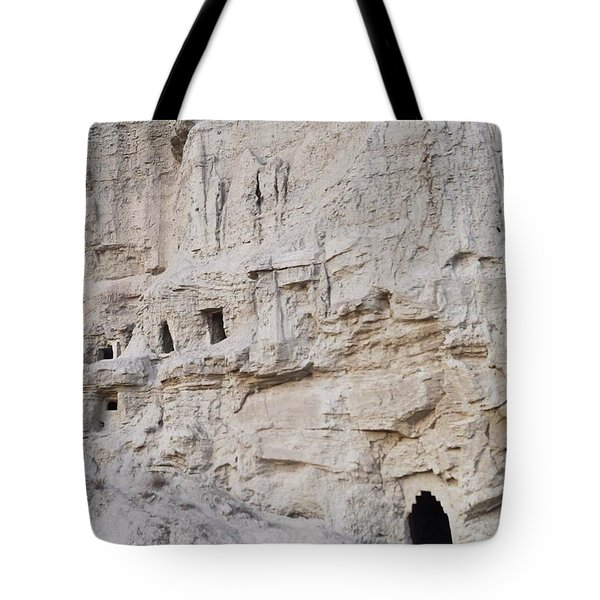 Visiting Cave Houses In Navarra Last Tote Bag