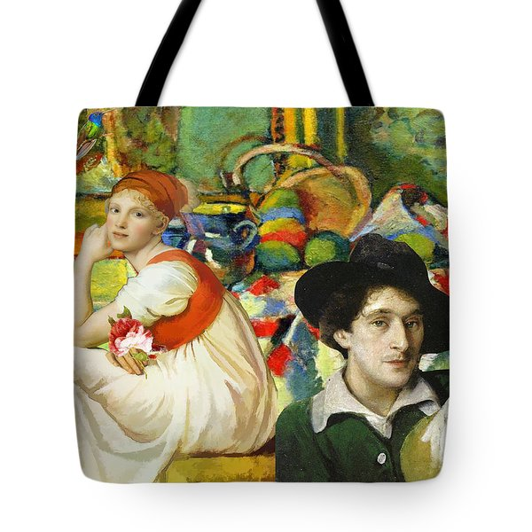 Visiting Matisse Tote Bag