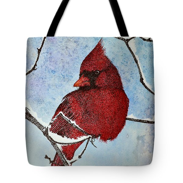 Tote Bag featuring the painting Visiting Spirit by Suzette Kallen