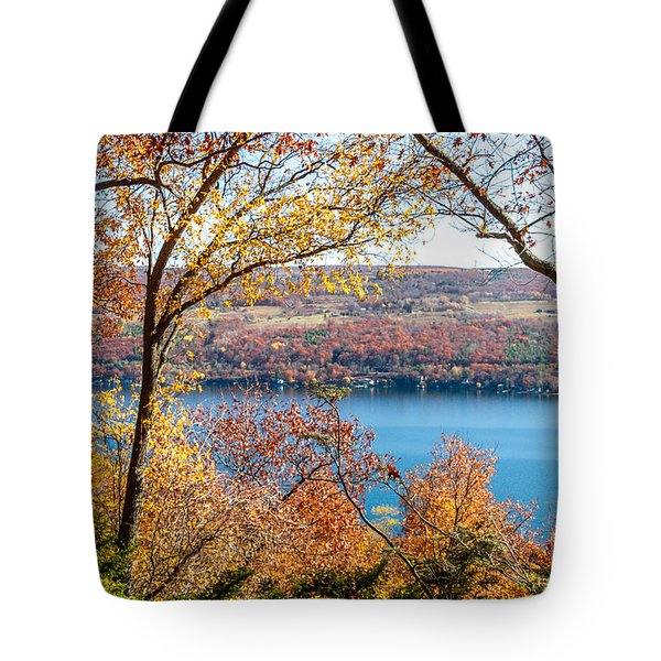 Tote Bag featuring the photograph Vista From Garrett Chapel by William Norton