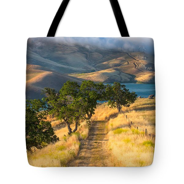 Vista Grande Trail At Sunrise Tote Bag