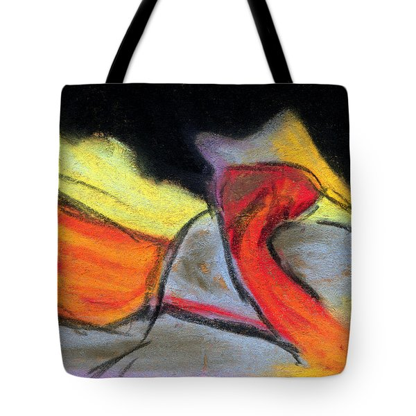 Visual Experience Tote Bag by R Kyllo
