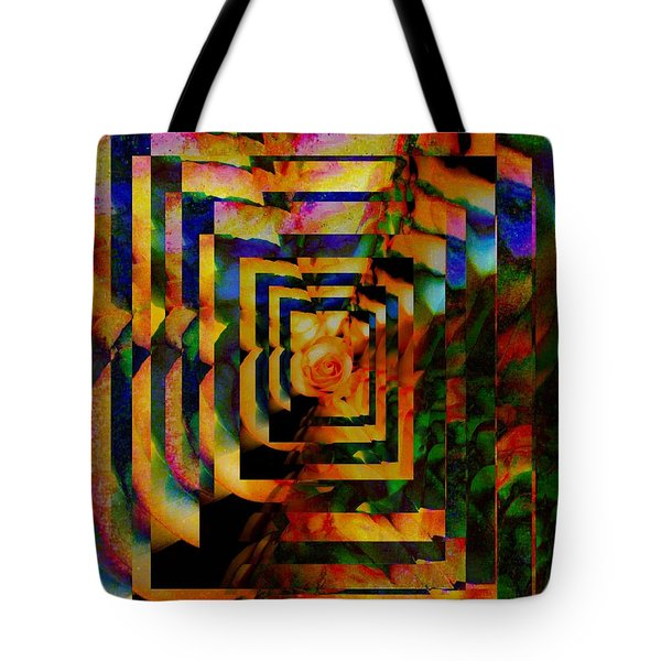 Tote Bag featuring the digital art Visual by Gayle Price Thomas
