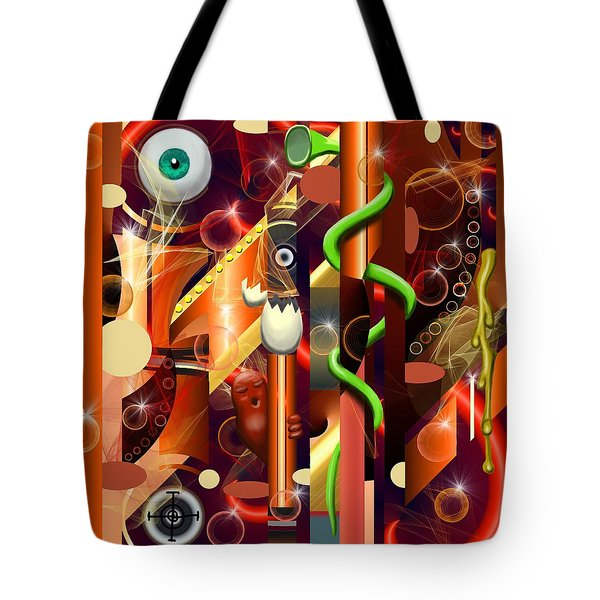 Visual Jazz Tote Bag