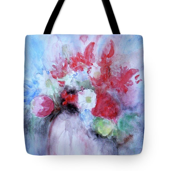 Tote Bag featuring the painting Vitality Still Life by Jasna Dragun