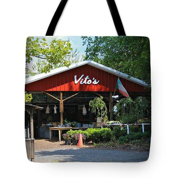 Vito's Farm Stand Tote Bag