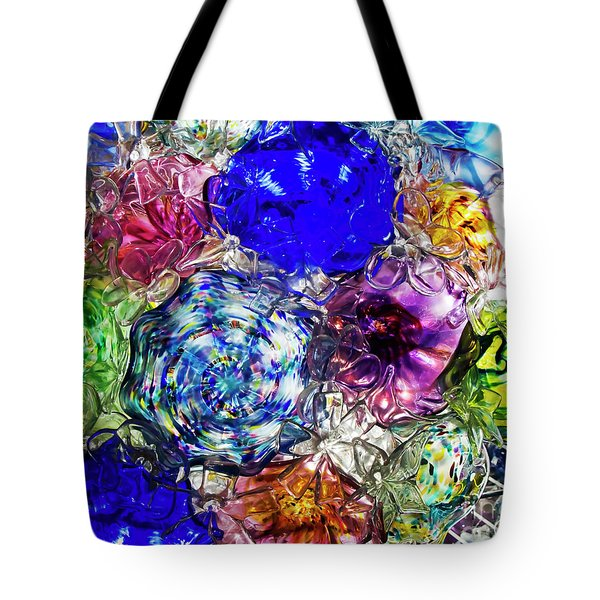 Vitreous Flora Tote Bag by Gary Holmes