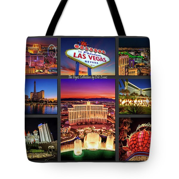 Viva Las Vegas Collection Tote Bag by Aloha Art