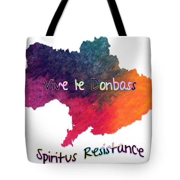 Vive Le Donbass Tote Bag