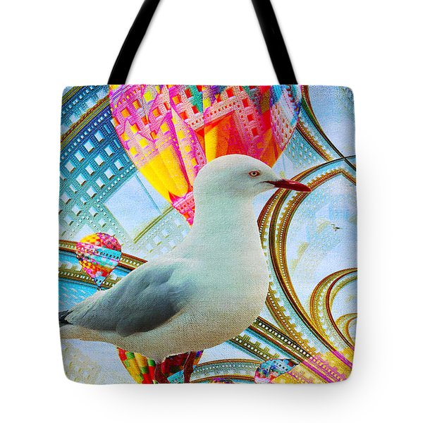 Tote Bag featuring the photograph Vivid As A Dream by Chris Armytage