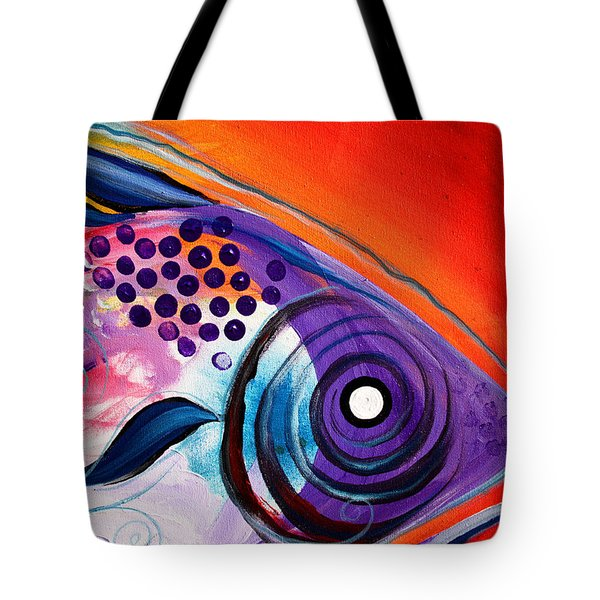 Vivid Fish Tote Bag