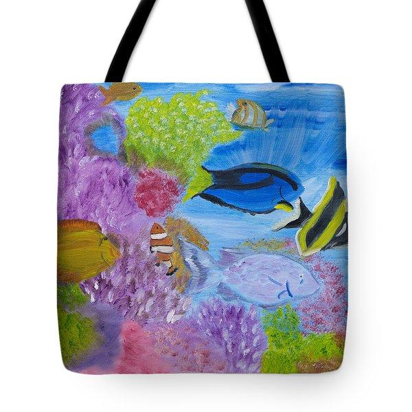 Corals Calling  Tote Bag