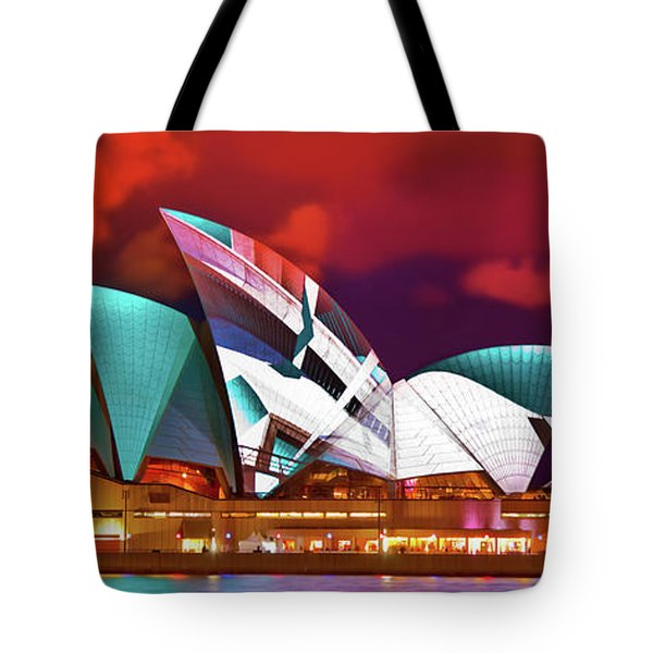 Vivid Nights Tote Bag