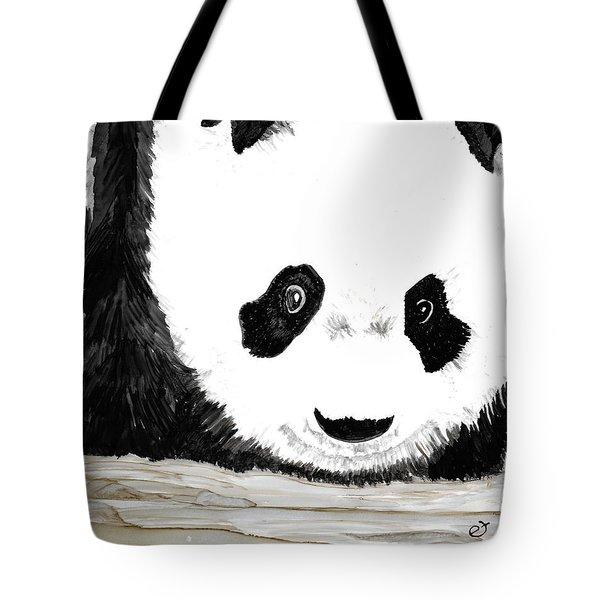 Vivi's Pet Panda Tote Bag