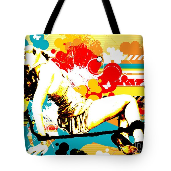 Vixen Subdued Tote Bag by Chris Andruskiewicz