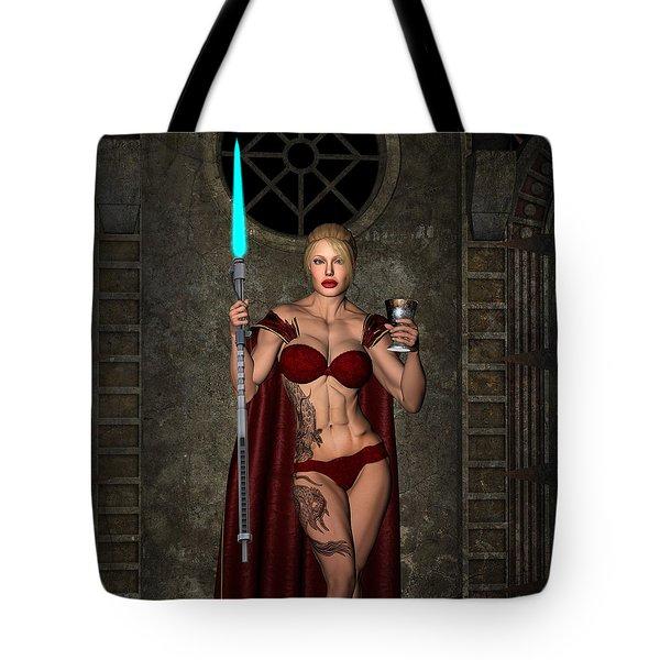 Vixen Warrior Series 01 Tote Bag