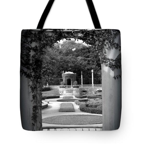 Vizcaya Garden Tote Bag by Edgar Torres