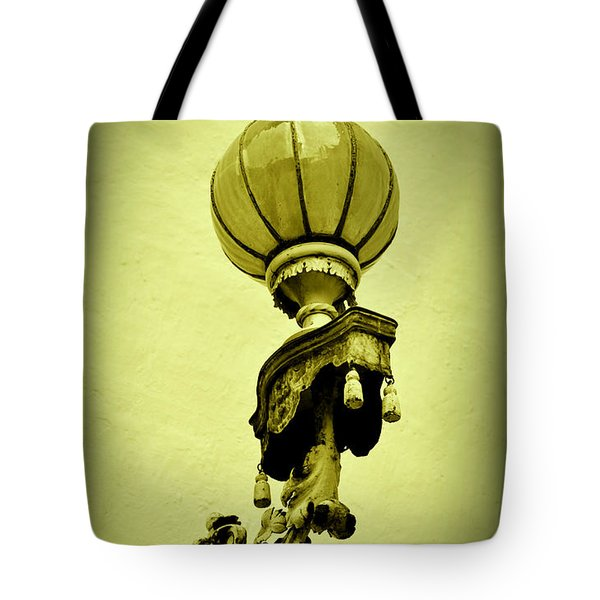 Vizcaya Lamp Tote Bag by Edgar Torres